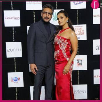 Aamina Sheikh and Adnan Siddiqui