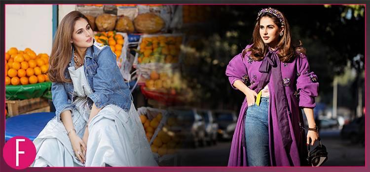 Girl in white gown, girl in purple cloak