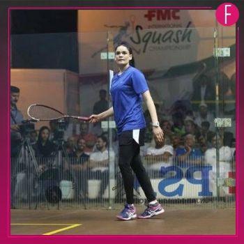 Muqaddas Ashraf, Squash Player