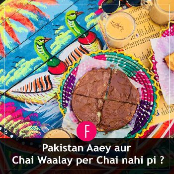 Chai wala, Nutella Paratha, Pakistan