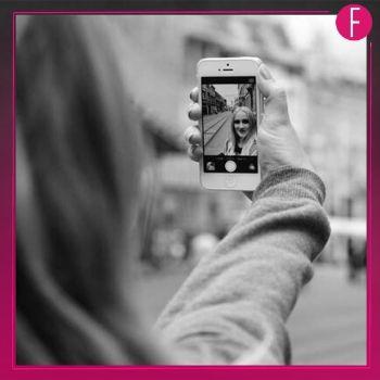 selfie, phone, smile