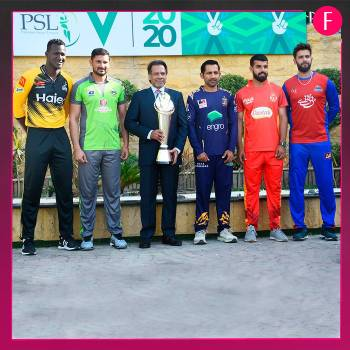 PSL 5 Team captains