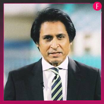 Ramiz Raja, man in black suit, white shirt