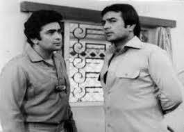 Rajesh Khanna and Rishi Kapoor