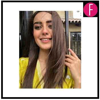 Iqra Aziz Hair