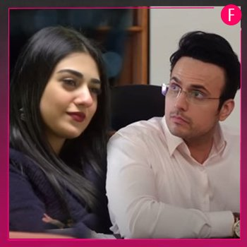 Sabaat Usman Mukhtar and Sarah Khan