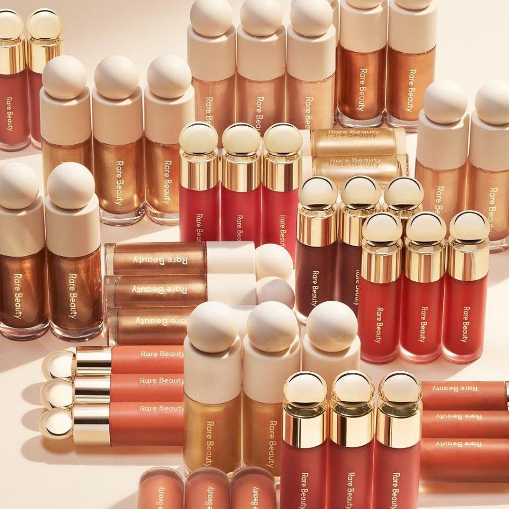 rare beauty, lipstick, foundation, luminizer