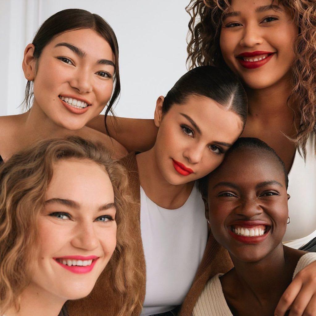 selena gomez, rare beauty, diversity