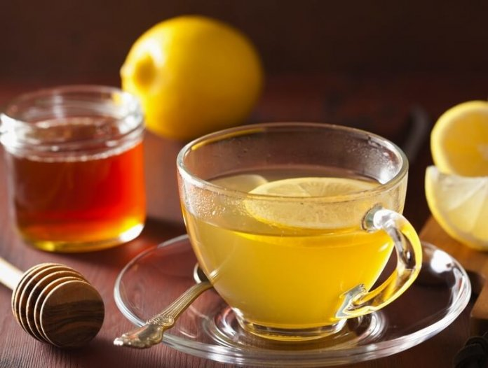 honey lemon water, greentea with honey, honey water, honey benefits on health