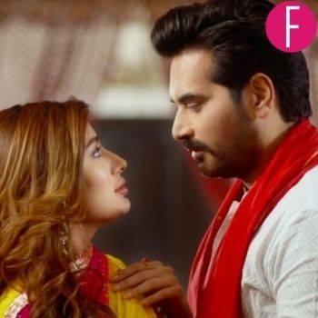 mehwish hayat and humayun saeed in a pakistani movie