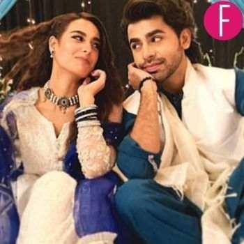 iqra aziz and farhan saeed in Pakistani drama
