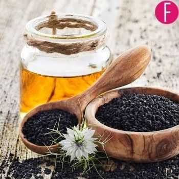 black seeds with honey