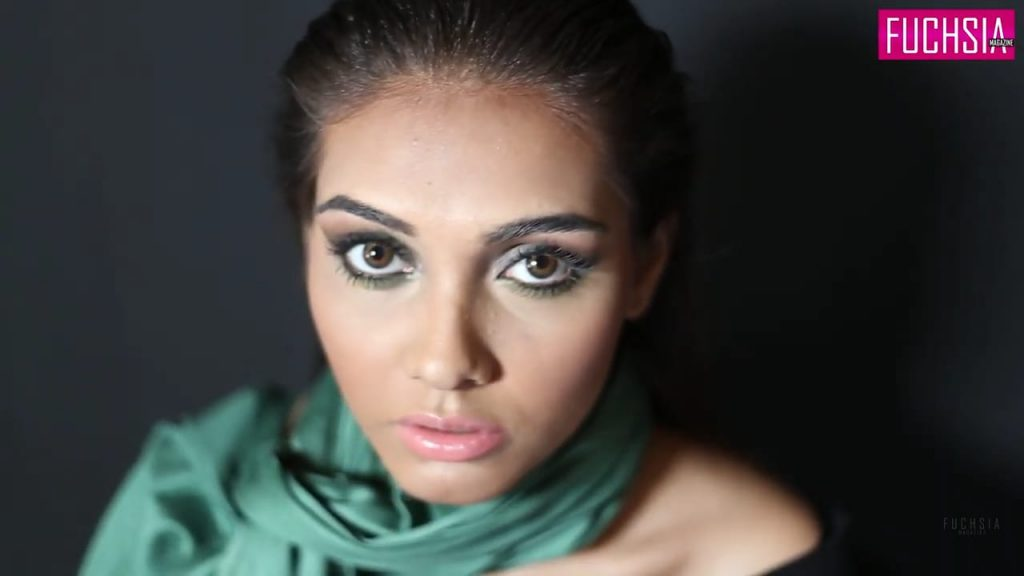 smokey eye, eye makeup, makeup look, green eye shadow