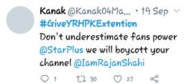 tweet on indian shows