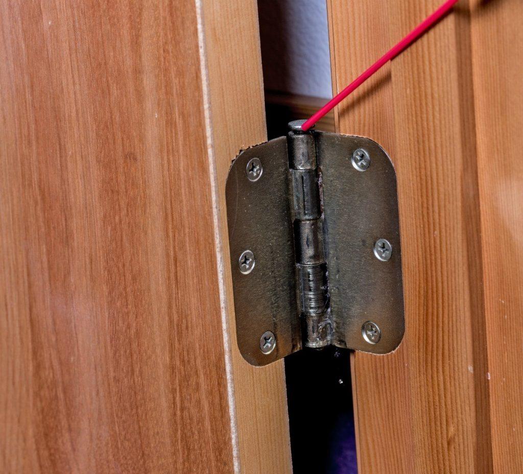 door, door hinges, squeaky doors, loose hinges, noisy doors