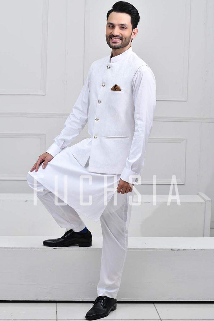 osama tahir, mushk, actor, tv, hum tv, model, latest trends, shalwar kameez