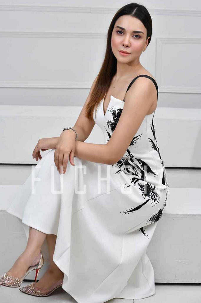 hollywood, pakistan, misbah mumtaz, black and white, dress, cocktail dress, fashion inspo