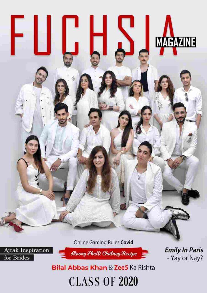 bilal abbas khan, azekah daniel, natasha baig, dino ali, bridal inspo, fashion, emily in paris, among us, white, classic, shoot, cover shoot, cover article, october