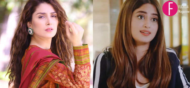 ayeza khan, sajal aly, curly hair, hairstyle, hair trends, 2020