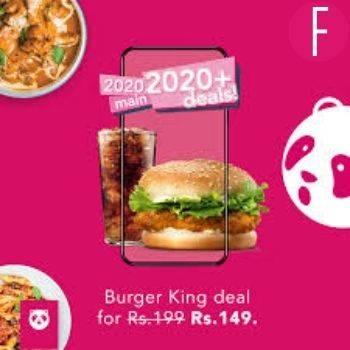 Foodpanda x Burger King