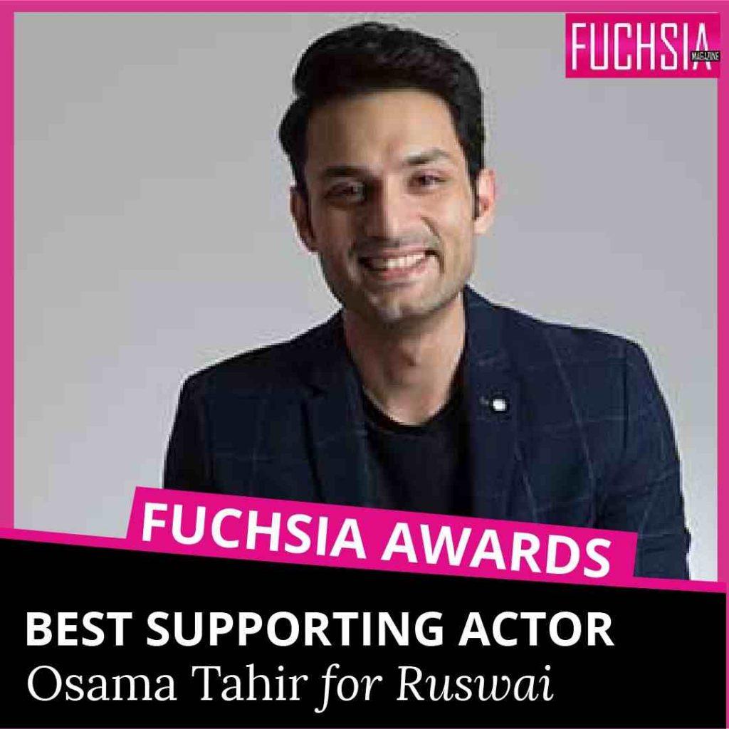 osama tahir, ruswai, fuchsia awards, mushk