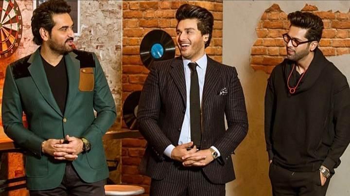 Ahsan Khan, time out with ahsan khan, express tv, talk show game show, fahad mustafa, humayun saeed