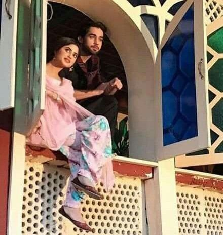 bilal abbas and sajal aly in o rangreza