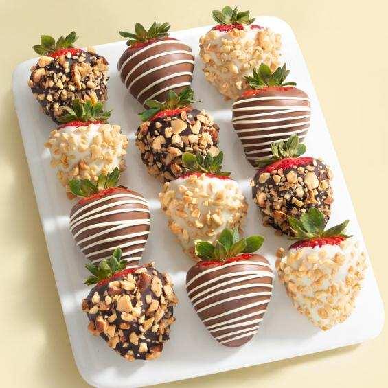 chocolate strawberries, recipe