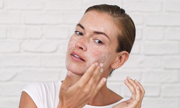 oily skin, exfoliating skin