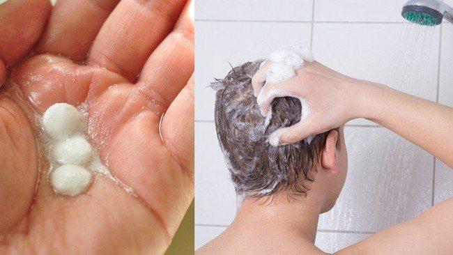 aspirin shampoo, hair remedy