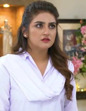 Hiba bukhari as dilnasheen in fitoor, fitoor on geo tv