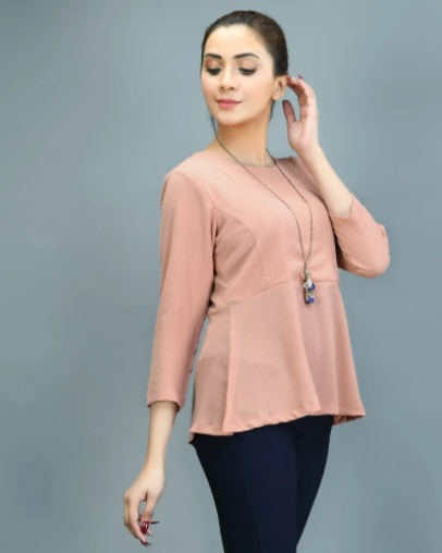 peplum top, limelight clothing, affordable western tops