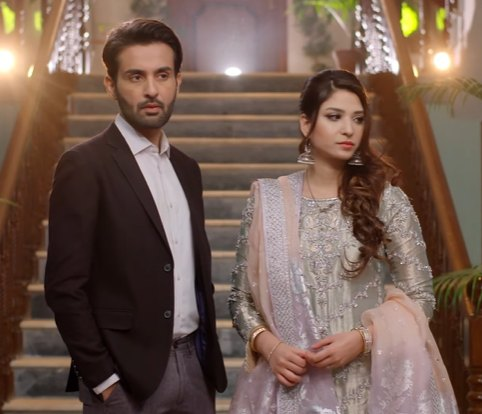 ramsha khan as meerab and affan waheed as Bakht in Shahnai drama, shehnai, shenai drama on ary