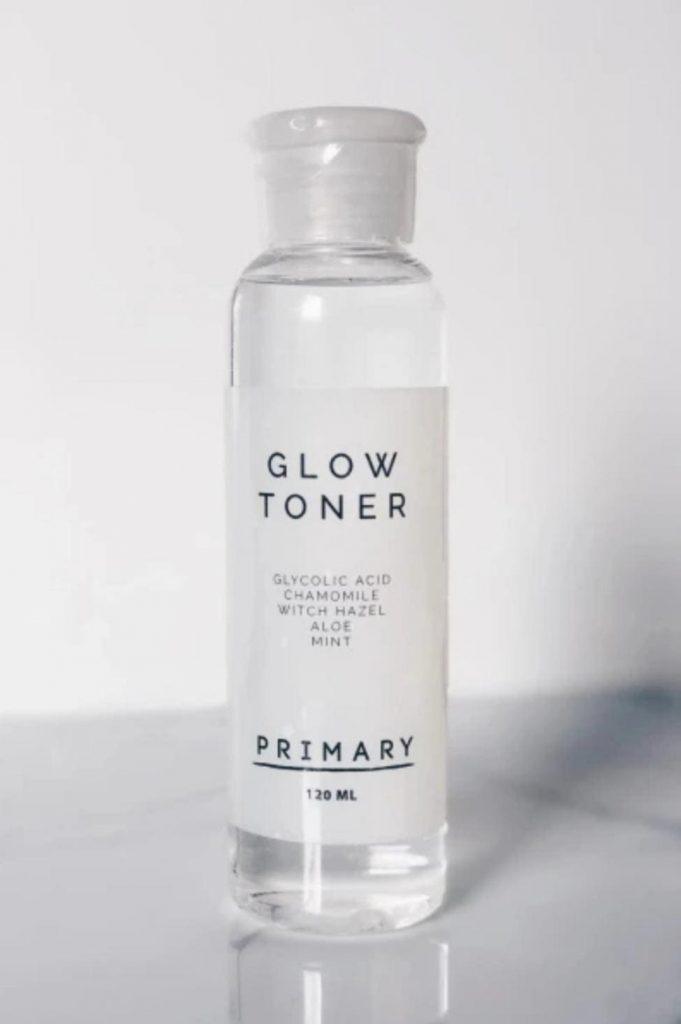 Beauty, moisturizer, glow toner, primer