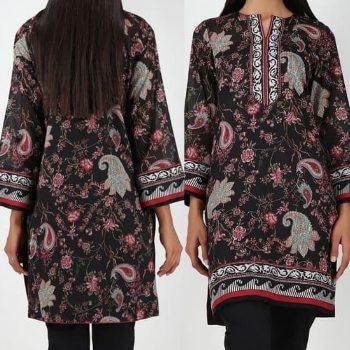Kurtas, fashion, spring, summer, black, floral, prints
