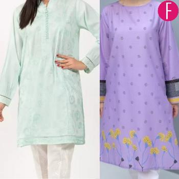 Kurtas, fashion, spring, summer, Purple, floral, prints