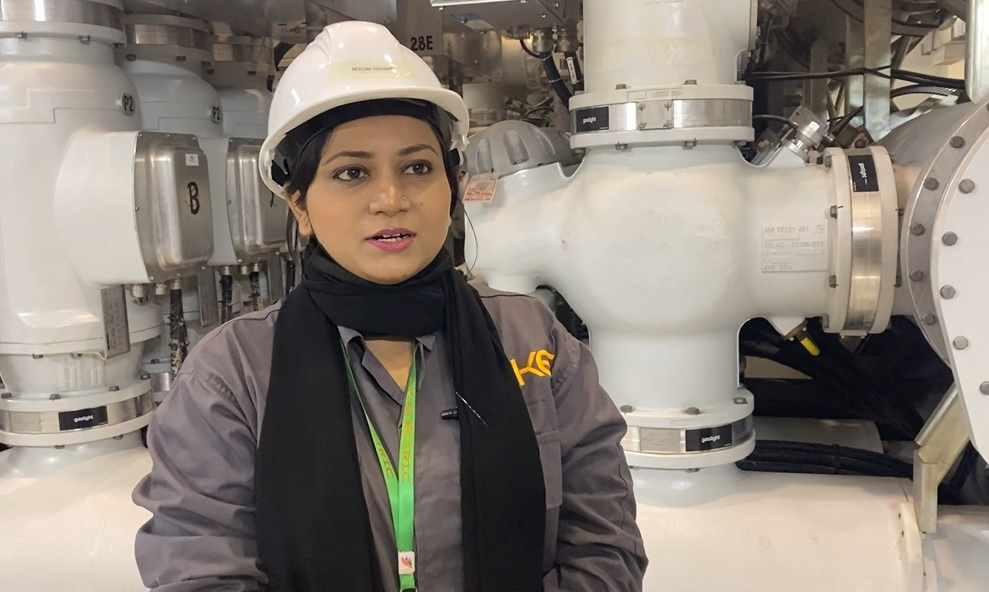 Neelma Nawab Female Grid Worker in K Electric