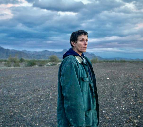 nomadland on Hulu, Best Motion Picture (Drama) winner Golden Globes, Frances McDormand in Nomadland