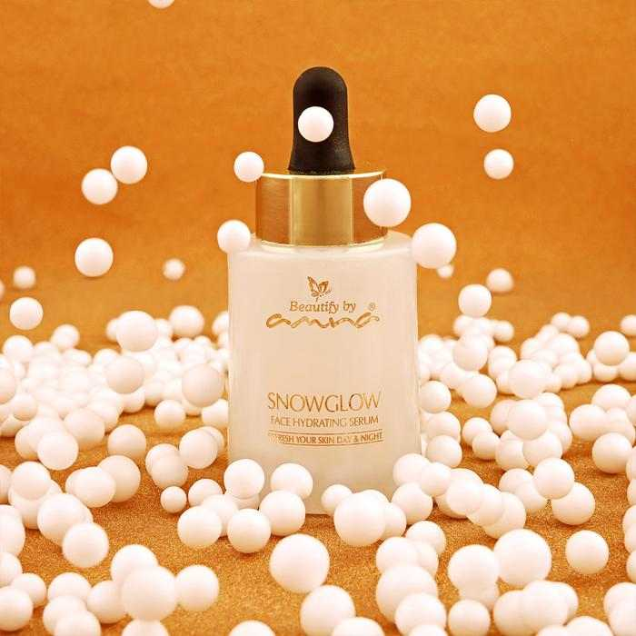Snow Glow Face Hydrating Serum, beautify by amna , 23rd march sale