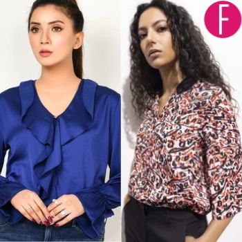 7 Affordable Western Tops From Local Brands, sapphire, khaadi, limelight, western wear, western clothing, upgrade wardrobe, spring summer 21 collection