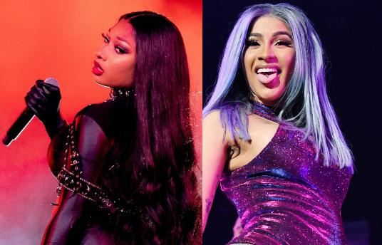 meghan thee stallion and cardi b perform WAP at Grammy's, cardi b, meghan thee stallion