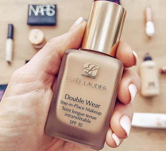 estee lauder, light weight foundation, double wear, no make up look, summer look