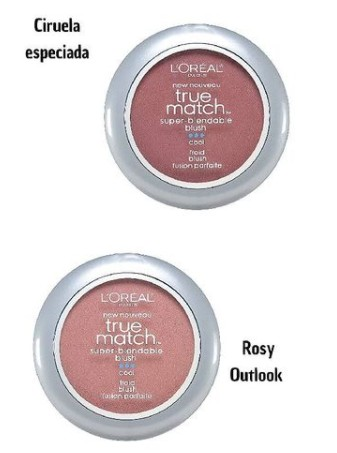 loreal true match blush on, pink, rose gold, blush/highlight