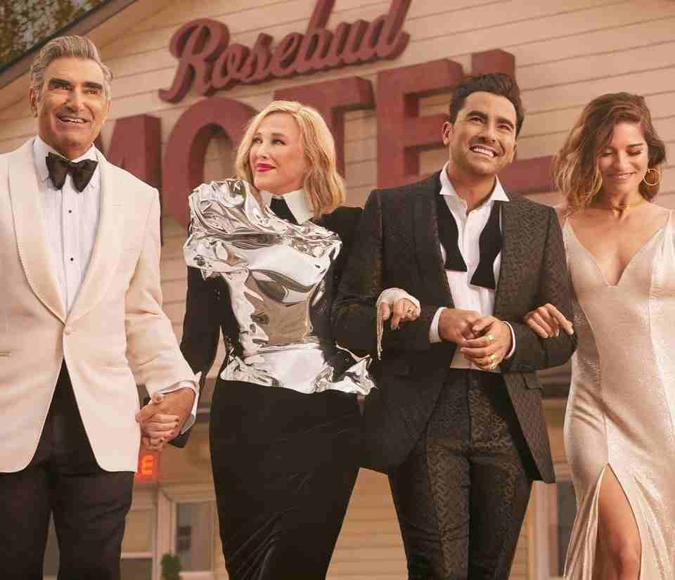 Schitt's Creek on Netflix, Best TV Series Comedy, winner Golden Globes