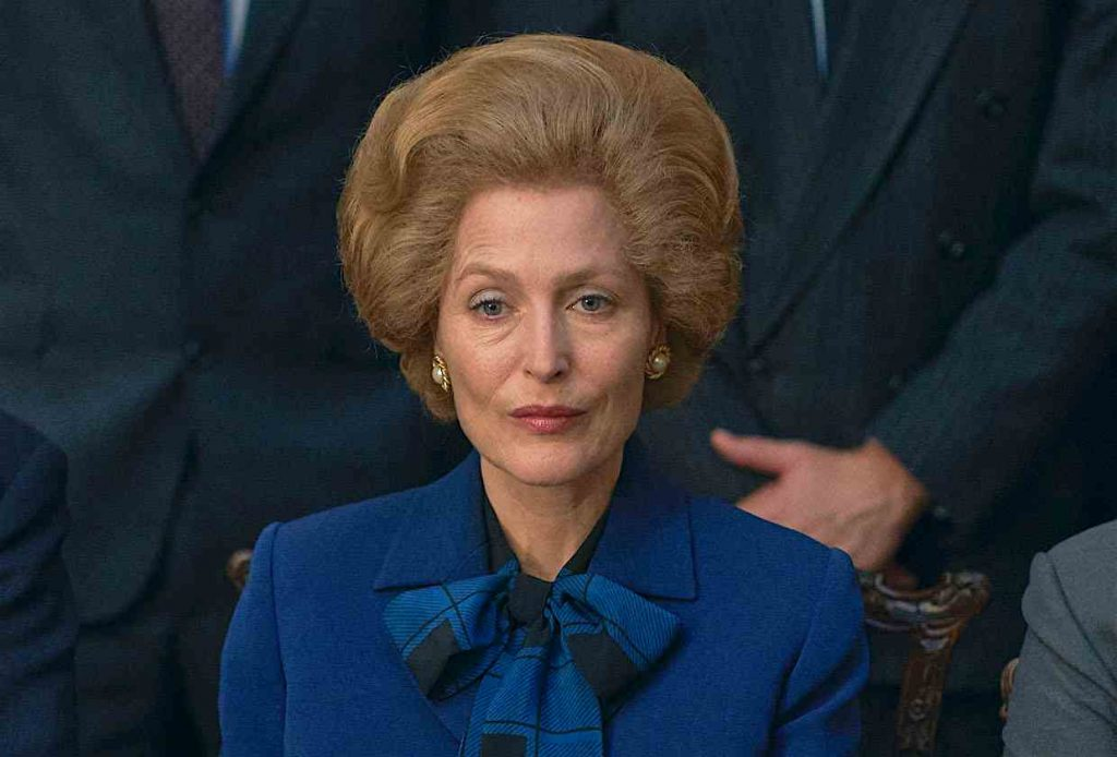 The Crown on Netflix, Gillian Anderson in The Crown, Margaret Thatcher, Gillian Anderson as Margaret Thatcher, Best Supporting Actress