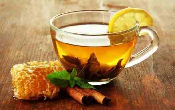 Honey and cinnamon tea