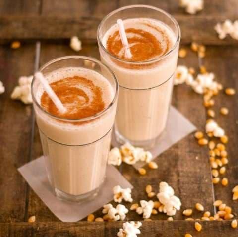 Milkshakes, banana, chocolate, caramel, dates, fruits, ramzan, iftar