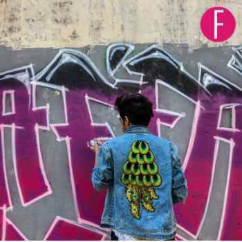 young artist , graffiti art , artist