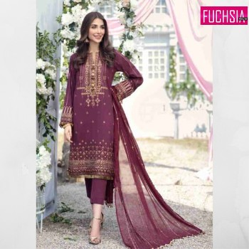 Purple outfit, eid collection