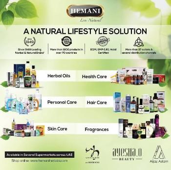 hemani herbals, range of herbal products